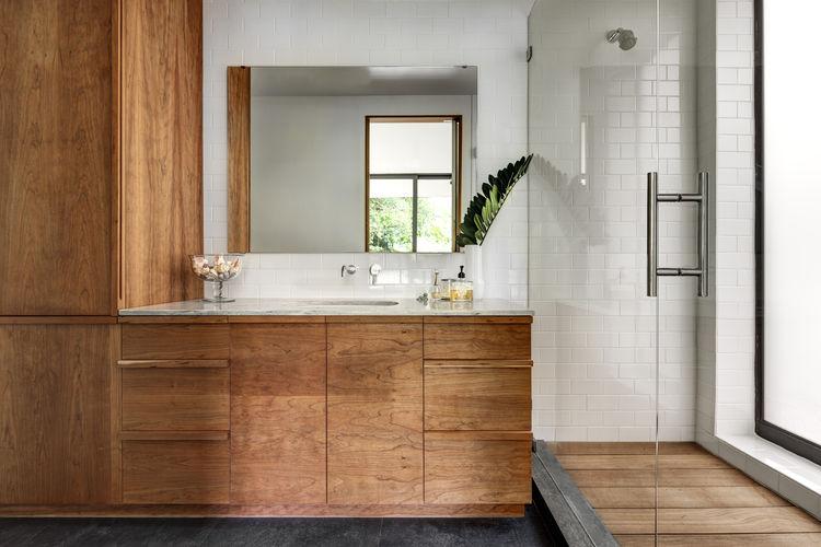 Midcentury Miami Home Master Bathroom