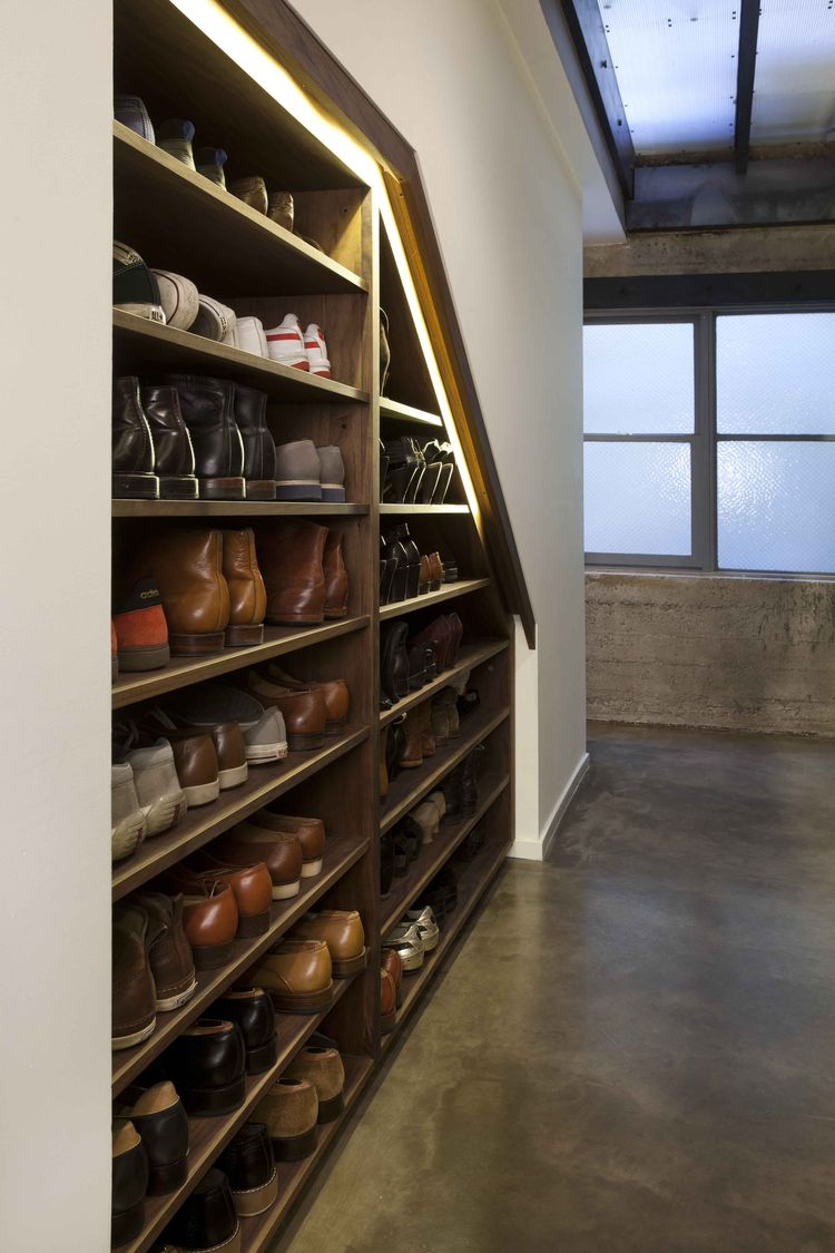 San Francisco loft with shoe closet