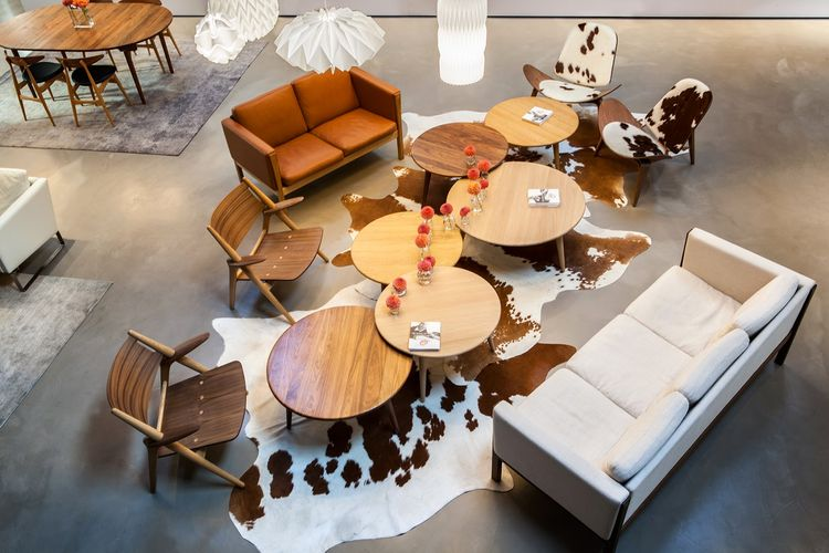 Carl Hansen and Son Showroom Los Angeles Helms Bakery Design District Culver City