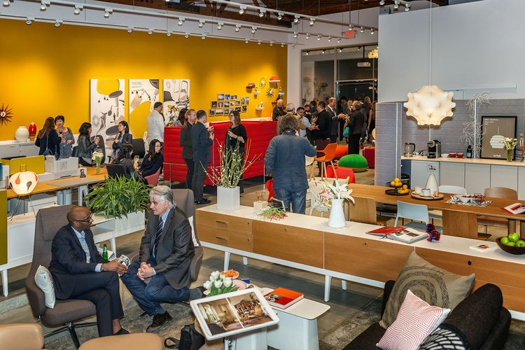 Vitra Showroom Los Angeles Grand Re-Opening Helms Bakery Design District Culver City