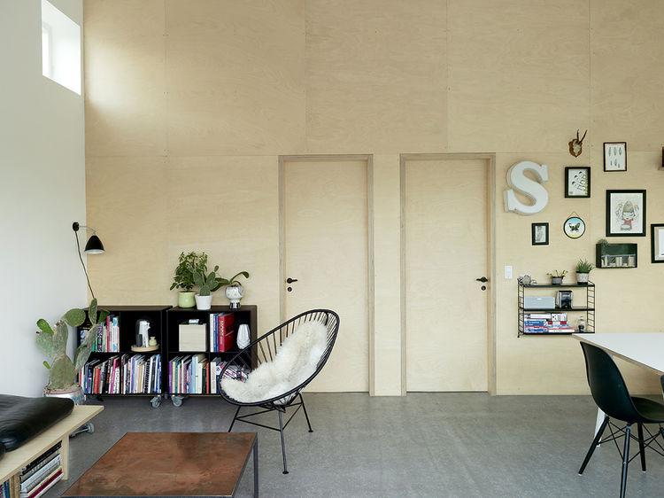 Copenhagen Prefab Living Room