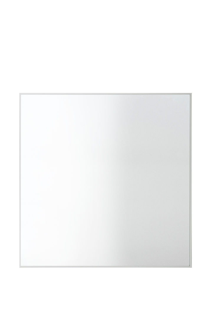 Simple square wall mirror with thin frame