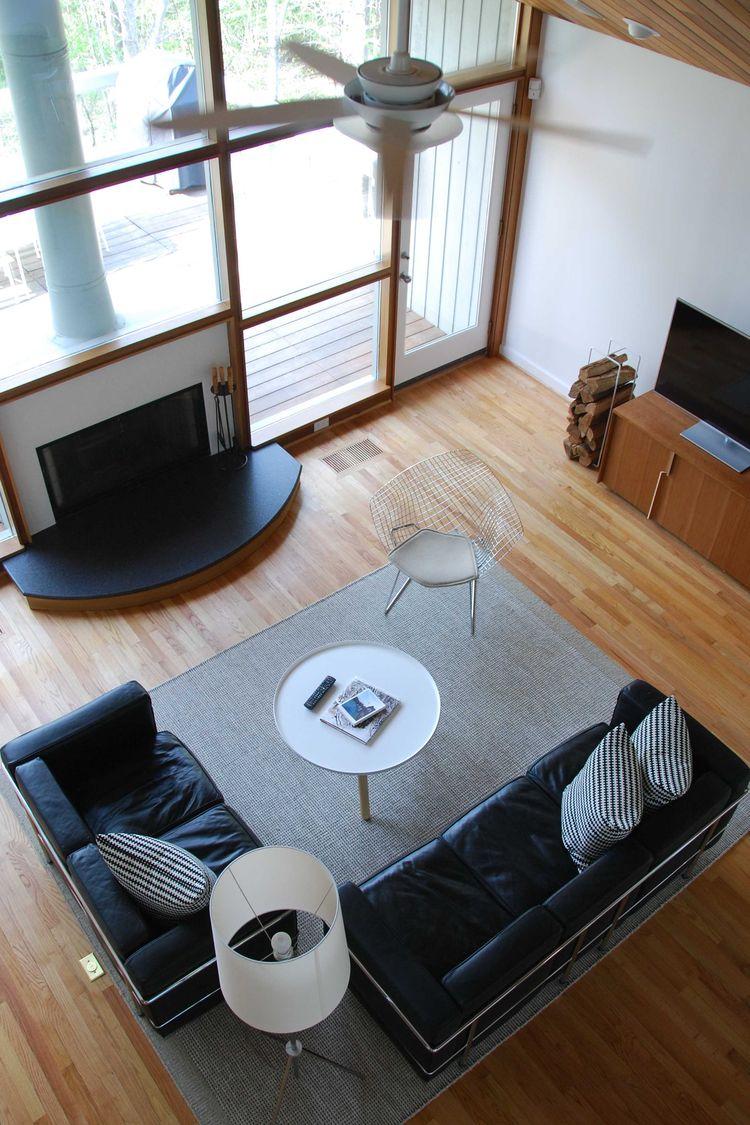 Chapel Hill Renovation Living Room