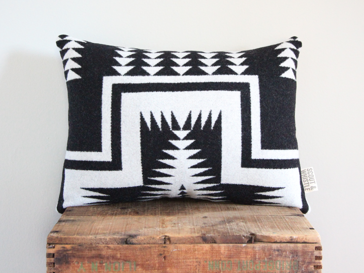 Pendleton Mesa Wool Pillow at Makers Market