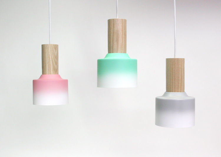Hombre pendants by Damm Design in Florida.