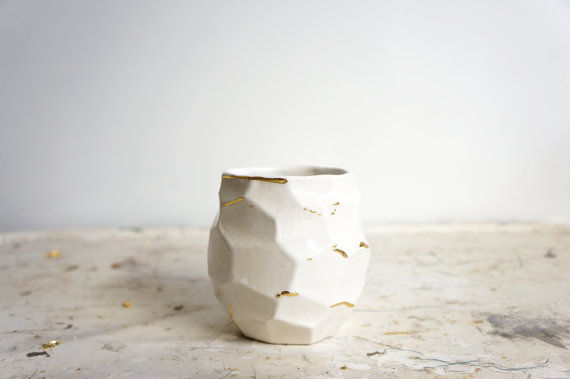 Vessel 4 in Emily Reinhardt's Faceted collection
