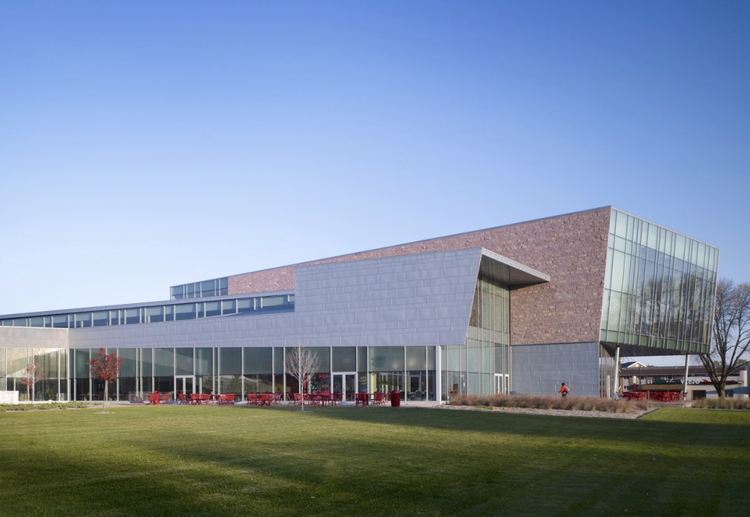 he Muenster University Center at the University of South Dakota by Charles Rose Architects