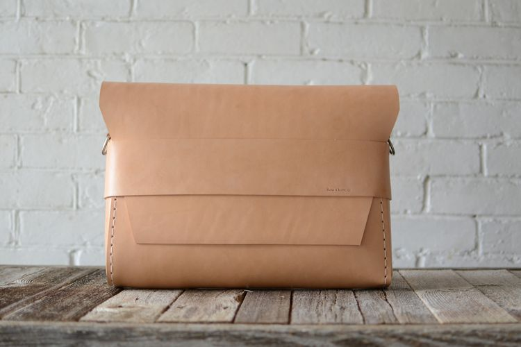 Minimalist satchel by Stock and Barrel Co.