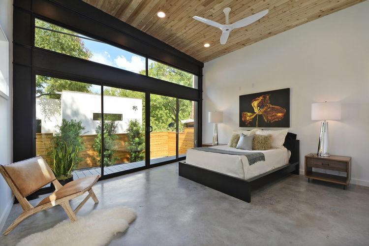 Austin Tree House Master Bedroom