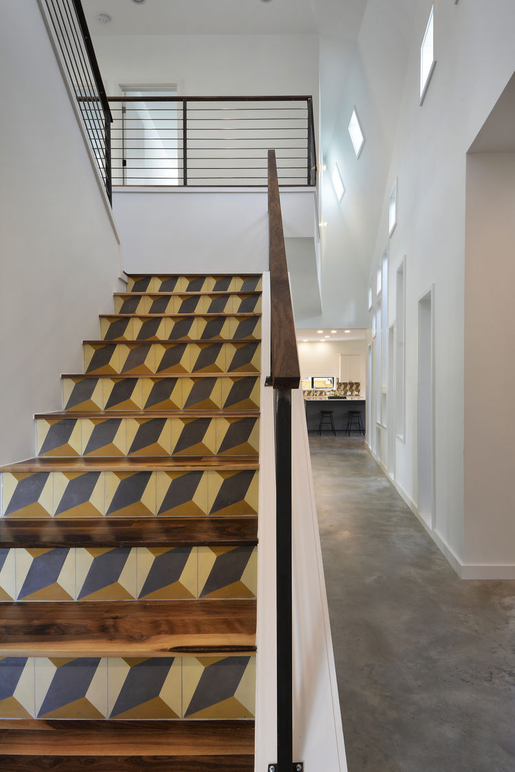 Austin Tree House Staircase