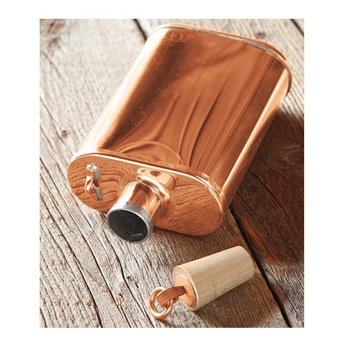 Jacob Bromwell copper flask.