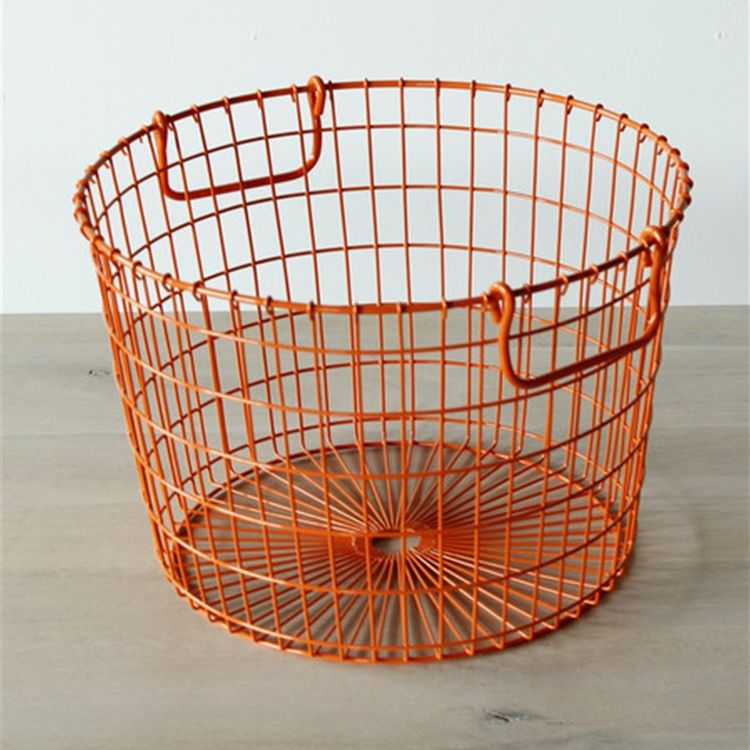 Retro storage basket originally designed for farming