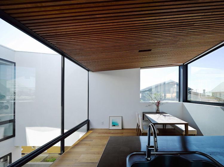 Wave House Dining Area Fujisawa, Japan