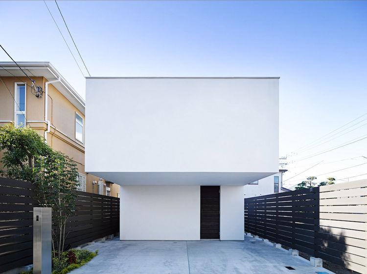 Wave House Exterior Facade, Fujisawa, Japan