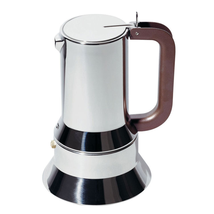 Classic espresso maker designed by Richard Sapper