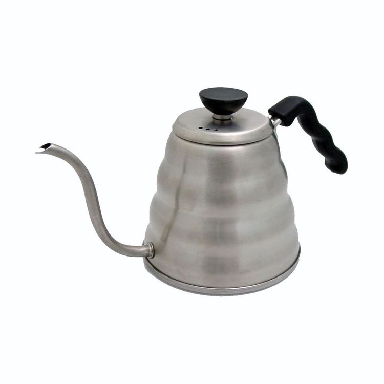 Refined steel drip-over kettle