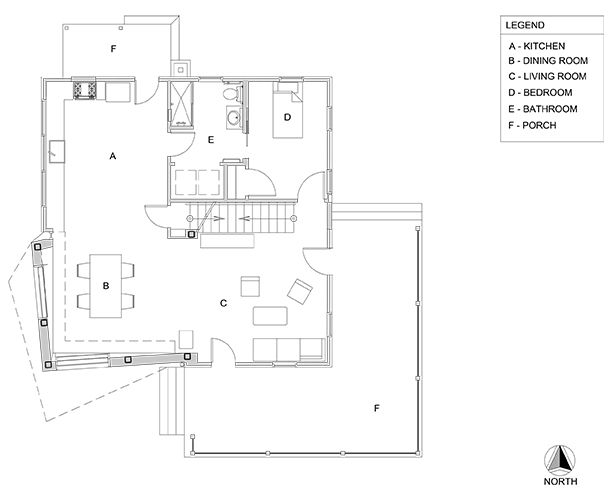 Twist Farmhouse floor plan