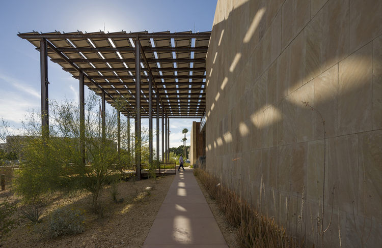 Ehrlich Architects Zeidler residence courthouse Yuma Arizona modern architecture