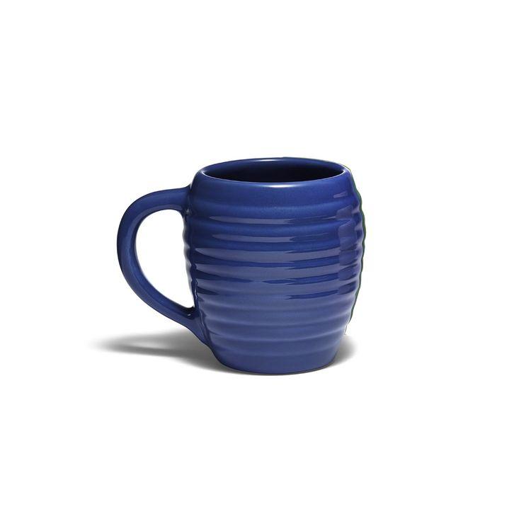Beehive sculpted ceramic mug