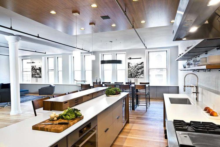Flatiron loft with open-plan kitchen
