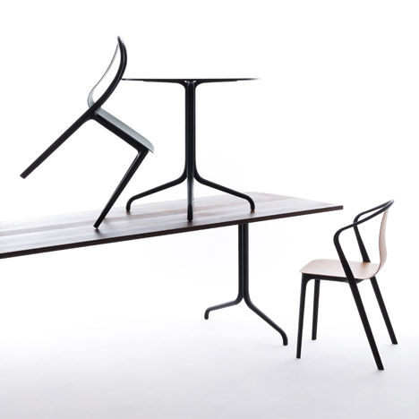 Belleville chair by Ronan and Erwan Bouroullec for Vitra