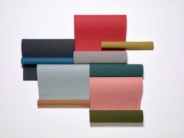 Terrain fabrics by Doshi Levien for Kettal