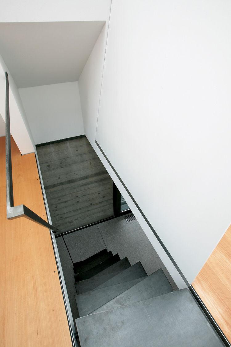 Ljubljana Micro House Iron Staircase