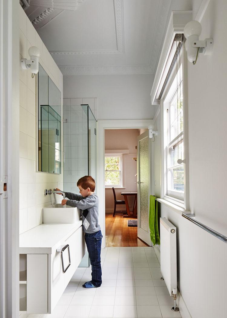 Modern renovated bathroom in Australia