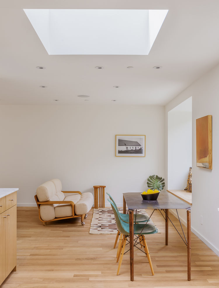 Skylights in Brother and Sister homes by Anonymous Architects