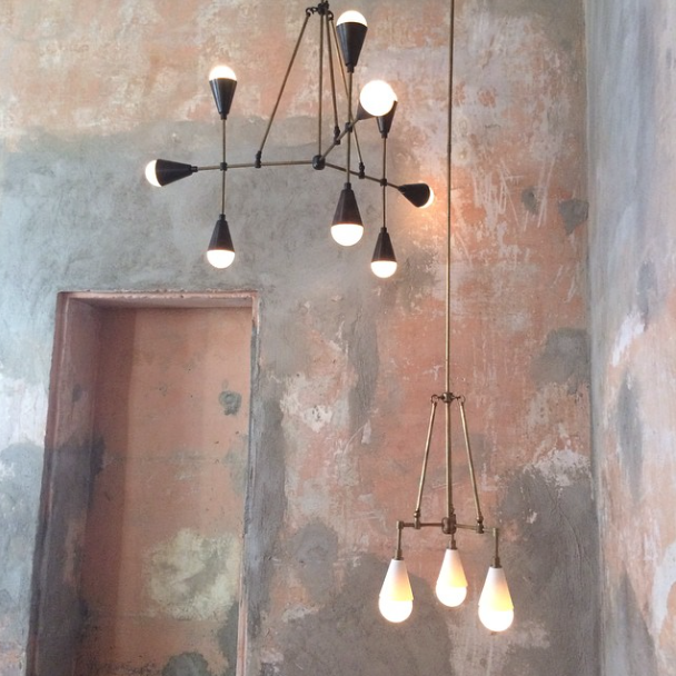 Apparatus Studio chandeliers at Salone del Mobile 2015