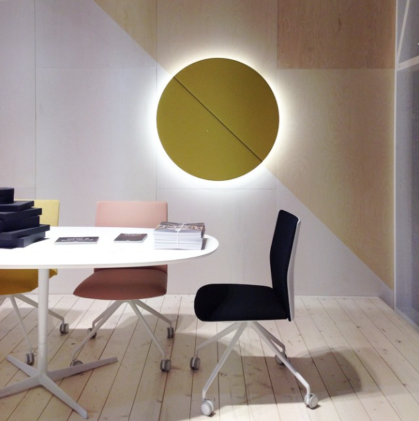 Arper acoustic panel at Salone del Mobile 2015