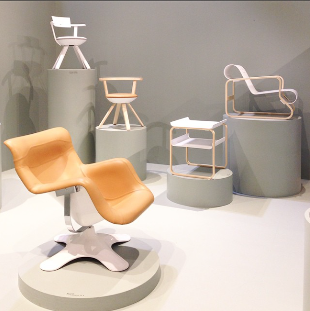 Artek chairs at Salone del Mobile 2015