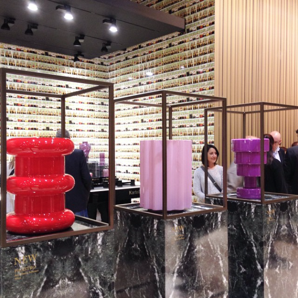 Ettore Sottsass designs produced by Kartell at Salone del Mobile 2015