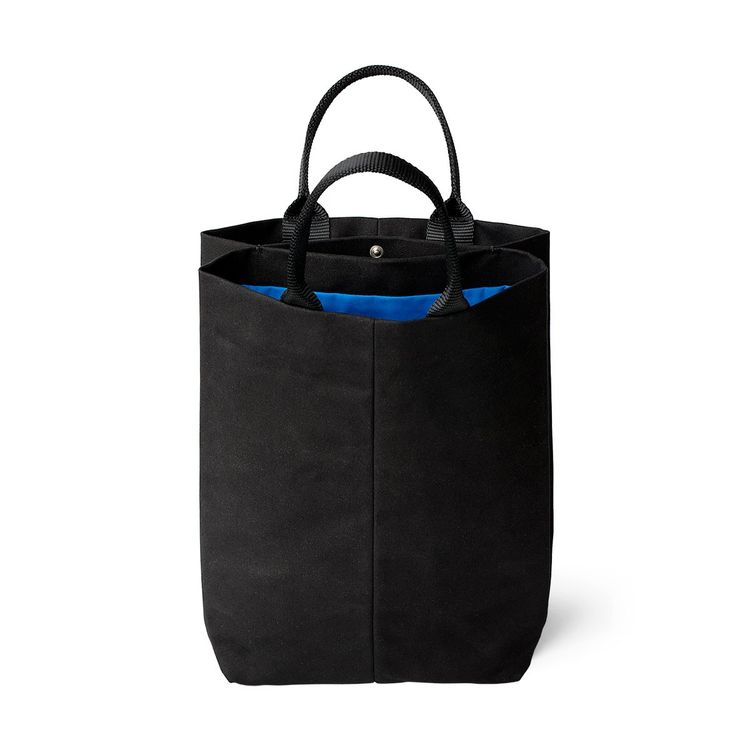 Simple tote bag with two compartments and simple silhouette