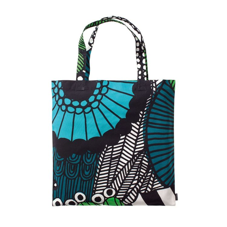 Floral printed tote bag made from durable cotton