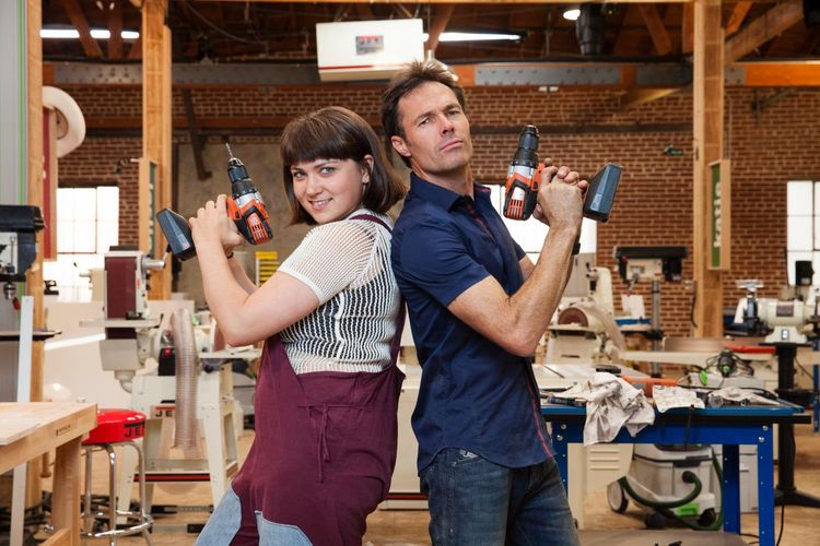 Designer Katie Stout and Carpenter Karl Champley win top prize in Ellen's Design Challenge on HGTV