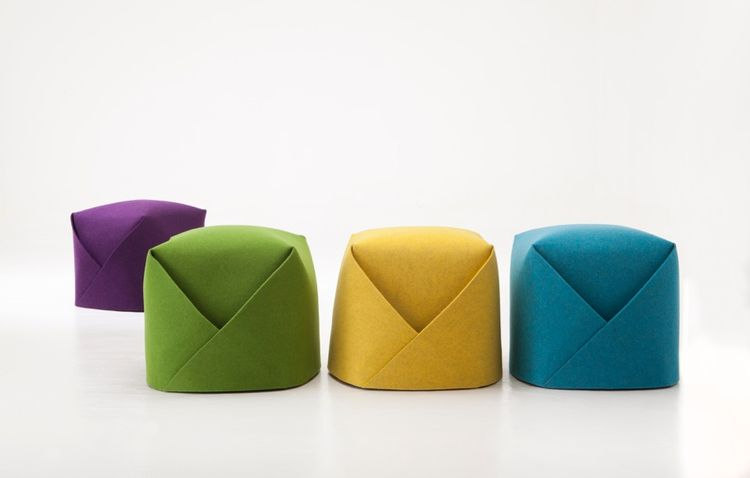 Colorful low stool