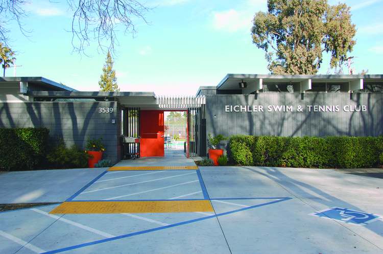 Eichler Swim & Tennis Club, Palo Alto, California.