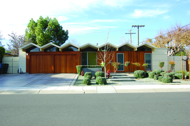 Greenmeadow in Palo Alto, a Joseph Eichler development.