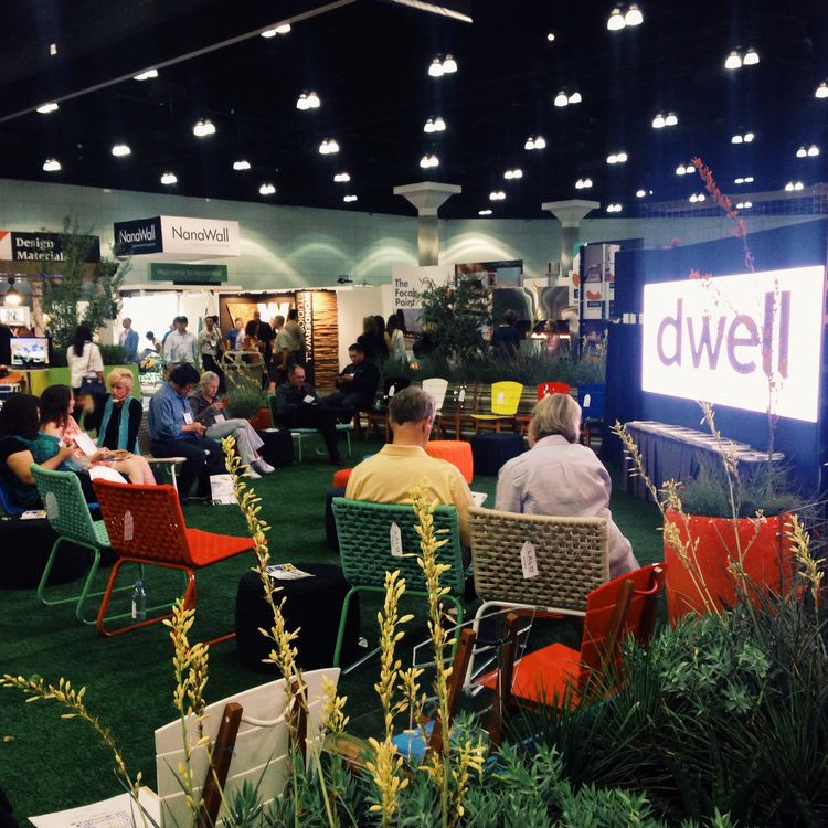 Dwell on Design's Dwell Outdoor Cinema, a new area on the showfloor in 2015