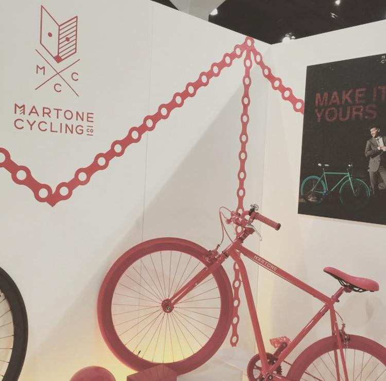 Martone Cycling bikes at Dwell on Design