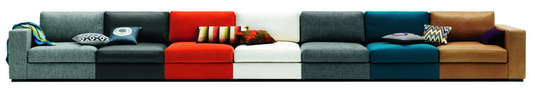 BoConcept sofa in many colors.