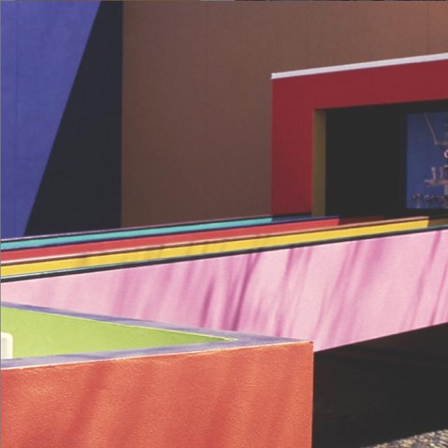 """Magic of a People"" Pavilion by Alexander Girard, Hemisfair 1968, San Antonio, Texas"