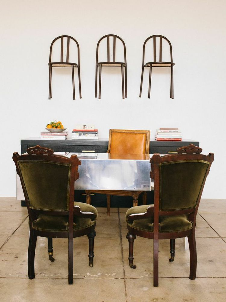 Outfit Home, Los Angeles, with chairs by Robert Mallet-Stevens.