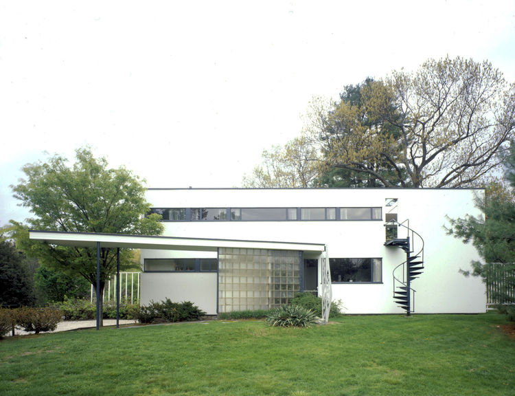 Getty Keeping It Modern initiative, Gropius House, Walter Gropius