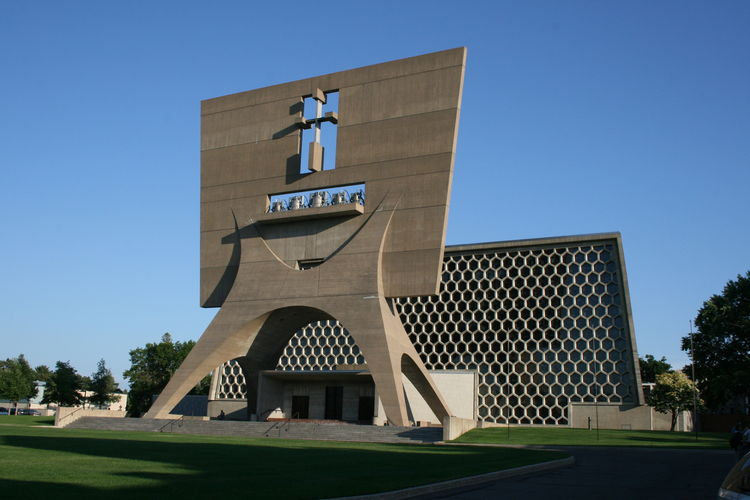 Getty Keeping It Modern initiative, Saint John's Abbey and University Church, Marcel Breuer