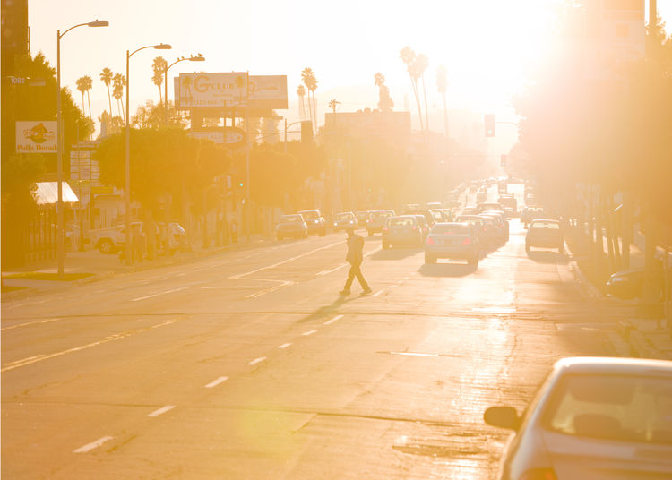 Both Sides of Sunset book, Los Angeles, 2014, Iwan Baan