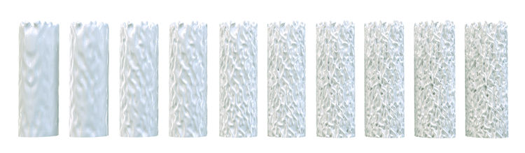 Customizable ceramic vase collection by Francis Bitonti.