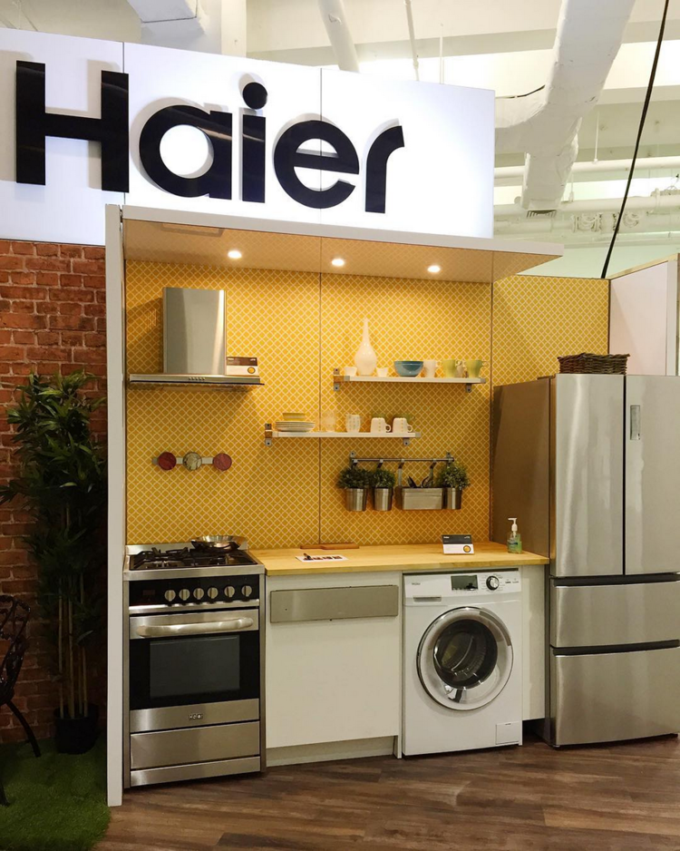 Haier booth at DODNY