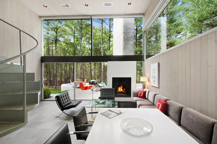 Charles Gwathmey's Sedacca House in East Hampton